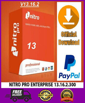 Nitro Pro Enterprise 13.16.2.300🔥2020🔥 Windows 32/64bit 🔥 Fast Delivery 🔥