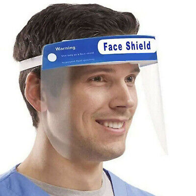 NEW Face Mask Shield Portector Adjustable Full Covering Visor Mask Guard Safety