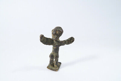 Altes figurliches Goldgewicht Ashanti BY42 Old Goldweight Late Kumasi Style Poid