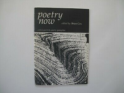 Critical Quarterly: Poetry Now, undated