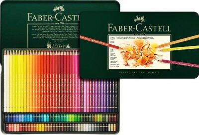 Faber-Castell Colour Pencil Polychromos tin of 120 colours 110011