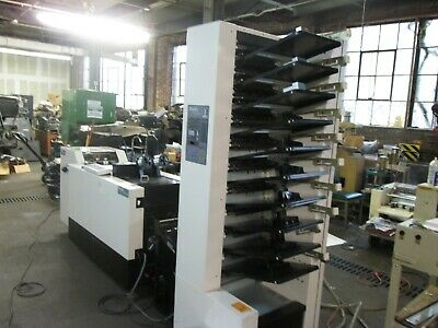 Duplo10000S collator stitcher fold and and trimmer  air feed