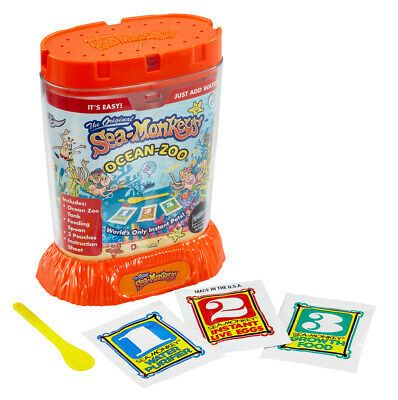 Sea Monkeys Ocean Zoo Worlds Only Instant Pets