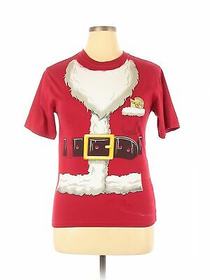Assorted Brands Women Red Short Sleeve Top XXL