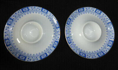 2 Eierbecher China Blau Dorothea Seltmann Weiden TOP-ZUSTAND