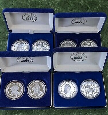 Lot Of 8 (4 Sets Of 2) National Collector's Mint Sets