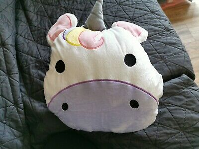 Bnwt 3 In 1 TRAVEL BUDDY UNICORN. (Blanket, Pillow And Hand Warmer)!