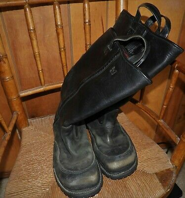 Pro 14''  STEEL TOE Crosstech Firefighter Boots - Model 3009 Size 10.5 3E used