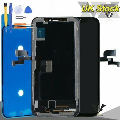 Replacement Touch Screen For iPhone X 10 Digitizer Display LCD Assembly Frame UK