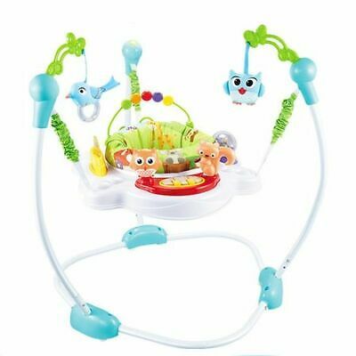 Super Fun Jumperoo with Toys and Lights Jungle Baby