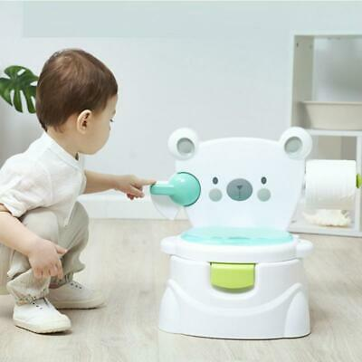 Potty Big Bear Toilet Baby Sound and Paper towel Holder