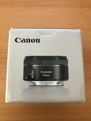 Canon EF 50 mm F/1.8 EF STM for Canon - Black - Good Condition