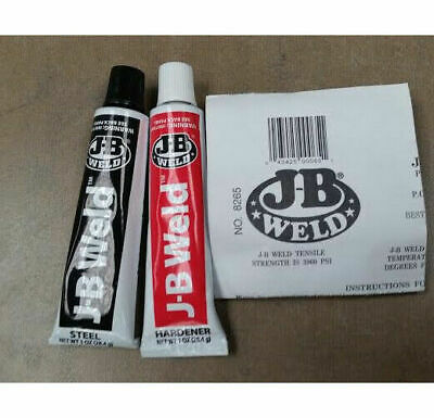 J-B Weld 8265-S (1oz Tubes) Epoxy Adhesive Cold Welding Compound, Non-Toxic