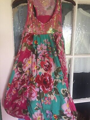 Girls Stunning Next Floral Detail Tunic Top Age 10 Years