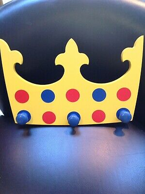Childs Coat Pegs In The Shape Of A Crown