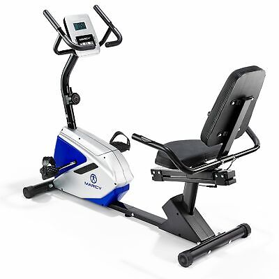 Marcy Azure RB1016 Recumbent Exercise Bike Machine Trainer Cardio Home Workout