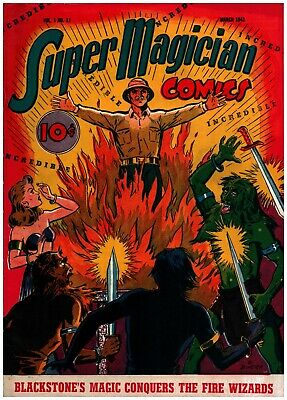 Super Magician Comics v1 #11 Golden Age Street & Smith 6.0