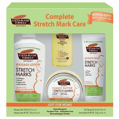 Palmer's Cocoa Butter Complete Stretch Mark Care Kit for Expectant Moms 4 pc set