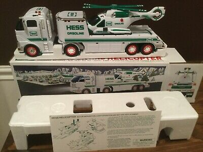 2006 Hess Toy Truck and Helicopter New In Box   FREE SHIPPING