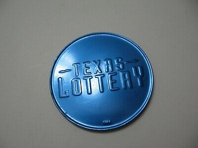 Texas Lottery Scratcher/Token BLUE