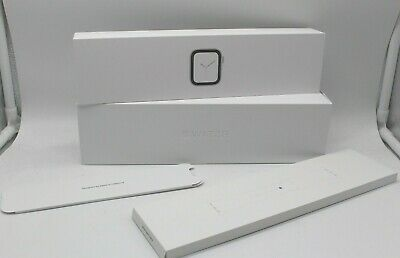 BOX ONLY Apple IWATCH Series 4 Silver Aluminum Case White Band GPS 44mm