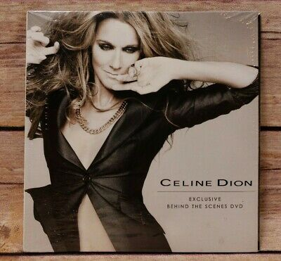 Celine Dion Exclusive Behind The Scenes DVD NEW Sealed