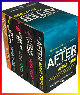 The Complete After Series Collection 7 Books by Anna Todd  |P.D.F|