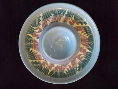 "Navajo Silas Claw Native American Southwest Indian Pottery 12"" Chip N Dip"