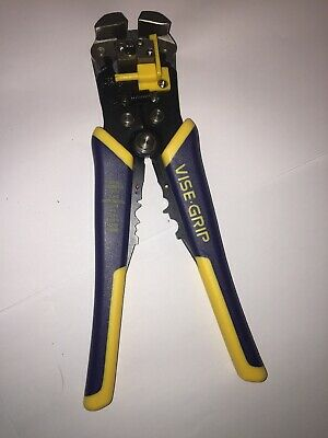 IRWIN VISE-GRIP Wire Stripper Self-Adjusting 8-Inch 2078300