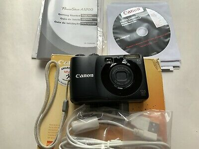 Canon PowerShot A1200 Digital Camera With Box Never Used