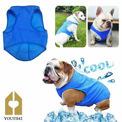 All Pet Solutions Dog Puppy Summer Reusable Cooling Vest Coat Small Medium Large
