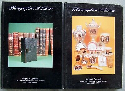 2 x AUKTIONSHAUS CORNWALL  PHOTOGRAPHICA AUCTION CATALOGUES IN GERMAN. 1986/7