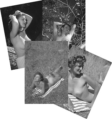 DIANE HUNTER JOB LOT SET 10 VINTAGE PIN UP PHOTOS 7 X 5 1950s MODEL GLAMOUR