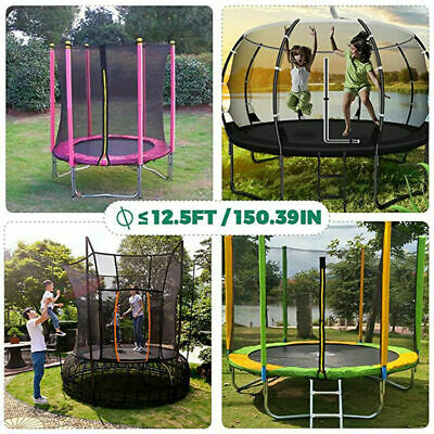 Children's trampoline sprinkler outdoor water park family interactive toys cool