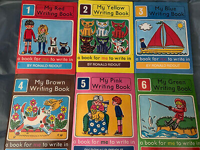 My Red Writing Book - Ronald Ridout - 1970s - Home  Schooling