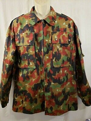Authentic Hess Co. German European Theater Issue Combat Camo Jacket Vintage