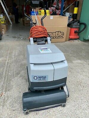 Nilfisk CA340 Scrubber Dryer - Mains 240v small scrubber dryer - Used
