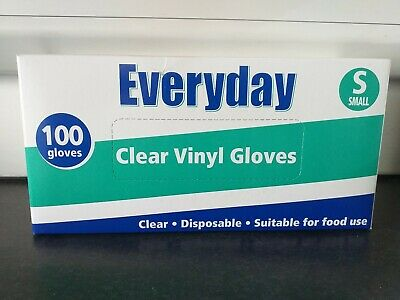 Everyday Clear Vinyl Gloves - SMALL