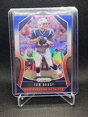 2019 Panini Prizm TOM BRADY Red,White,Blue Prizm #18 SP New England Patriots!