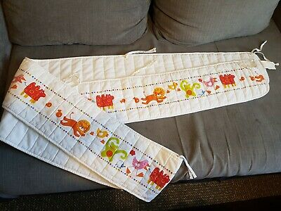 Baby cot bumper all round