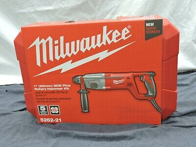 Milwaukee 5262-21 1 inch SDS Plus Rotary Hammer Kit REF. 302527-1