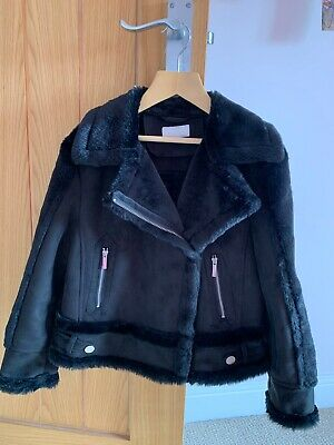 Girls Age 9 black Jacket Lipsy London