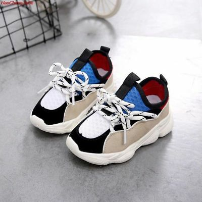 Trendy Fashion Shoes For Baby Girls Boys Sneakers Kids Air Mesh Breathable Shoes