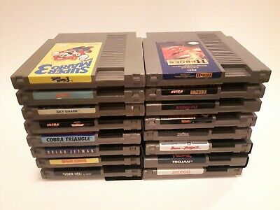 Nintendo Entertainment System NES Game Lot Dungeons Dragons Mario 3 TMNT 2 +More