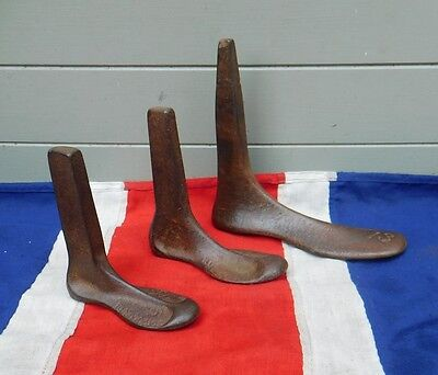 Victorian Primative Antique Vintage Metal Cobblers Shoe Makers Last Metal Tools