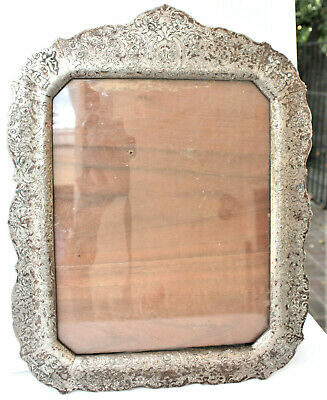 """Ornate Antique 937 Sterling Silver Picture Frame 14""""x11""""- 30 oz. Silver-Holland"""