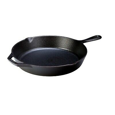 Lodge Cast Iron L10SK3 Lodge 12in Cast Iron Skillet Pre-Seasoned L10SK3  - 1