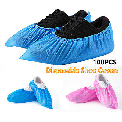 Non-woven Fabric Elastic Boot Covers Dustproof Overshoes Disposable Shoe Covers