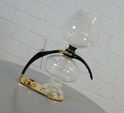 Amphora Cona Luxus Kaffeemaschine Coffee Maker Chrom Glas Size D Gold Edition
