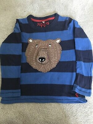 Joules Boys Long Sleeved Top T. Shirt Age 5